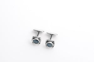 PORTHOLE cufflinks by Skaugen Guldager - a Norwegian jewelry designer from Telemark, Norway.