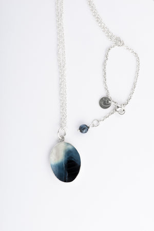 SHELL necklace by Anette Skaugen Guldager - Norwegian Jewelry from Telemark, Norway.