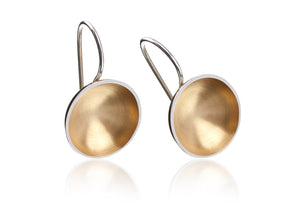 BAKKA - Planets Gold Plated Earrings Earrings - Norwegian Jewelry features artisan jewellery designers and goldsmiths from Norway.