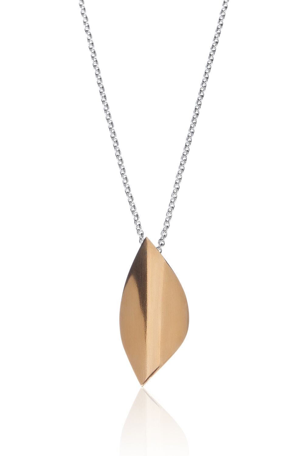 BAKKA - Bare Leaves Necklace Necklaces - Norwegian Jewelry features artisan jewellery designers and goldsmiths from Norway.