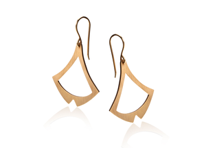 BAKKA - Sail Earrings Earrings - Norwegian Jewelry features artisan jewellery designers and goldsmiths from Norway.