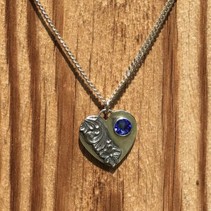 Heart Necklace by Ivar and Linda Brendemo in Telemark - Norwegian Jewelry