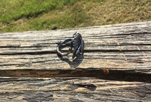 Leaves Ring by Ivar Brendemo - Norwegian Jewelry from Telemark