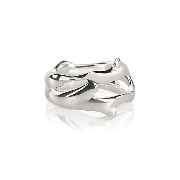 Double Branch Ring by Vido Jewels - a Norwegian jewelry designer and goldsmith in Oslo, Norway.