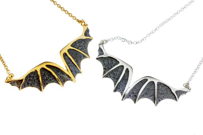 Fly a Dragon Necklace by Vera Bublyk - Norwegian Jewelry designer in Oslo, Norway