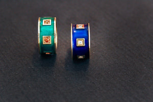 Expo Arte - Gold and Enamel Rings Rings - Norwegian Jewelry features artisan jewellery designers and goldsmiths from Norway.