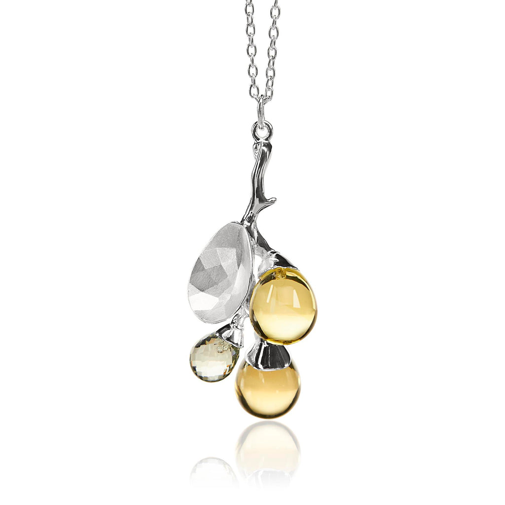 Vido Jewels - Freesia Pendant Pendants - Norwegian Jewelry features artisan jewellery designers and goldsmiths from Norway.
