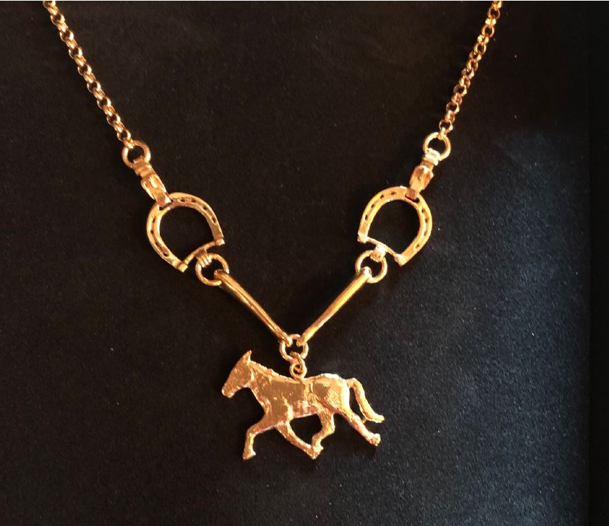 Horse Necklace by Ivar Brendemo - Norwegian Jewelrly