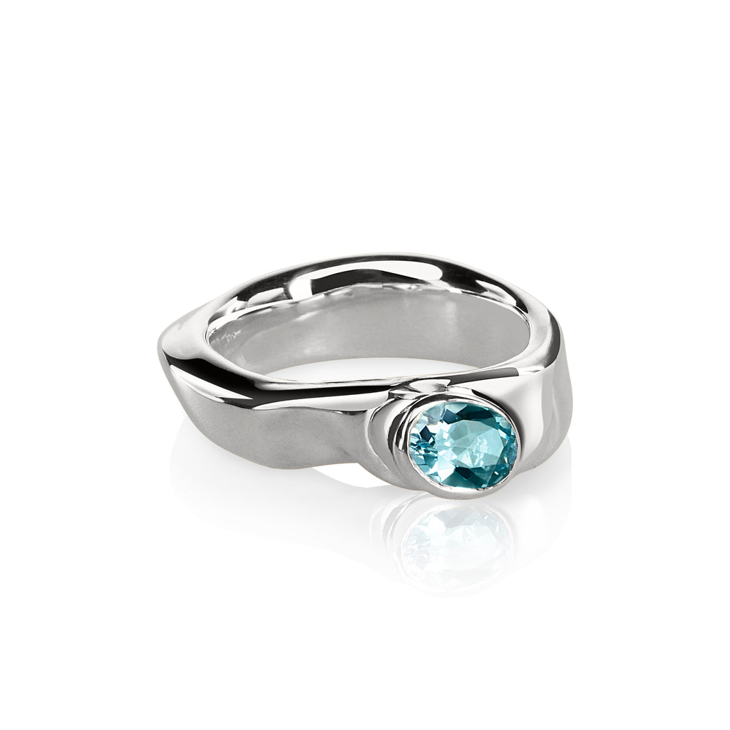 Vido Jewels - Kurg Silver Ring Rings - Norwegian Jewelry features artisan jewellery designers and goldsmiths from Norway.