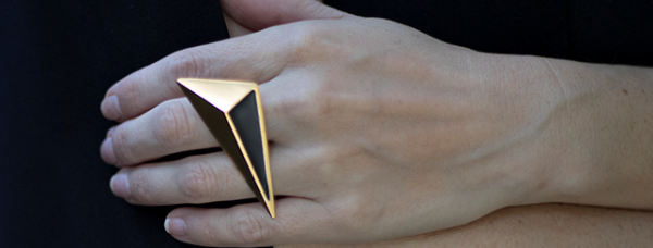 MARIANNE J – RING by Linn Sigrid Bratland - Norwegian Jewelry Designer and Goldsmith.