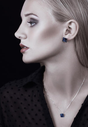 Linn Sigrid Bratland - MASKERADE - EARRINGS, SMALL Earrings - Norwegian Jewelry features artisan jewellery designers and goldsmiths from Norway.