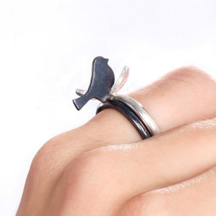 Linn Sigrid Bratland FUGL Rings - Handmade Jewelry from Norway - Norwegian Jewelry.