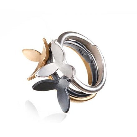 NETTVERK SMALL RING by Linn Sigrid Bratland - Norwegian Jewelry.