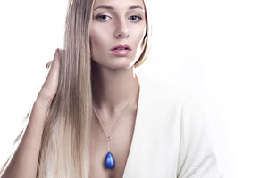 ROM ENAMELED NECKLACE by Linn Sigrid Bratland - Norwegian Jewelry