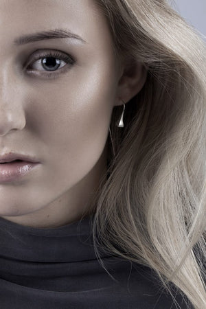 FUNDAMENT EARRINGS by Linn Sigrid Bratland by Norwegian Jewelry.