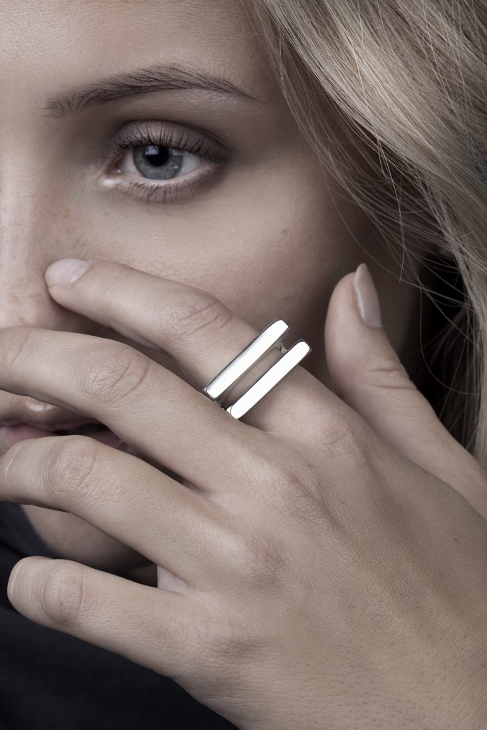 FUNDAMENT BAR RING by Linn Sigrid Bratland by Norwegian Jewelry.