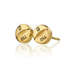 PILLULA FORTE 18 (.750) gold earrings by Undlien design - Norwegian Jewelry designer in Oslo, Norway.