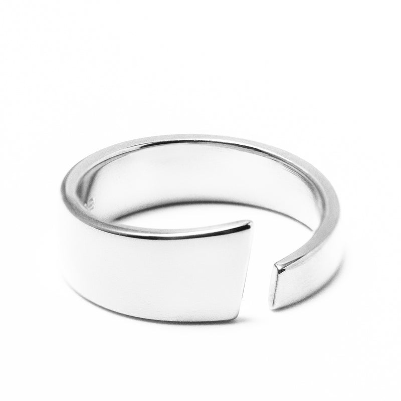 Ekenberg Scandinavia - Preikestolen (Pulpit Rock) Silver Ring - Norwegian Jewelry