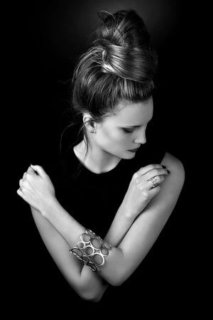 BATUS RUBEUS braclet by Undlien design - a Norwegian jewelry designer in Oslo, Norway. Photo by Aliona Pazniakova.