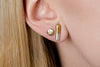 Undlien Design Medicus Capsula and Gold Pillula Forte Earrings - Norwegian Jewelry
