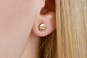 Undlien Design Medicus Pillula Mite Earrings - Norwegian Jewelry