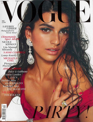 Vogue Magazine December 2018 features the Large Ring with a stamped statement by Sjur Hassel. He is a Norwegian jewelry designer and goldsmith from Tromsø, Norway.