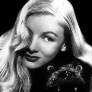Veronica Lake was an American actress most famous in the 1940's and famous for her well known for her peek-a-boo hairstyle. Her quote is the inspiration this ring bySjür Jewelry based in Tromsø Norway.