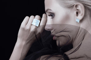 Linn Sigrid Bratland - MASKERADE – RING, LARGE Rings - Norwegian Jewelry features artisan jewellery designers and goldsmiths from Norway.