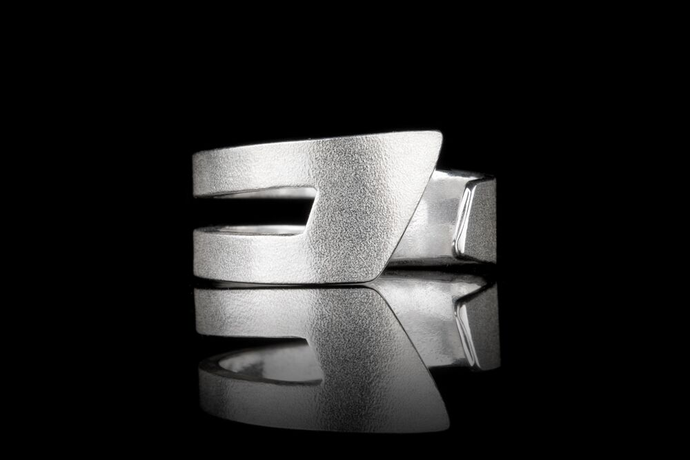 IGJ Design - Mountain Ring for Gentlemen Rings - Norwegian Jewelry features artisan jewellery designers and goldsmiths from Norway.