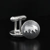 Bear Cufflinks by Kredah Design - Norwegian Jewelry