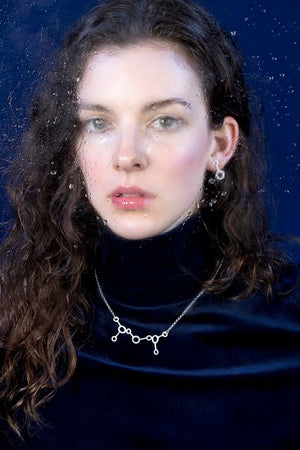 IGJ Design - Water- H2O Medium Necklace Necklaces - Norwegian Jewelry features artisan jewellery designers and goldsmiths from Norway.