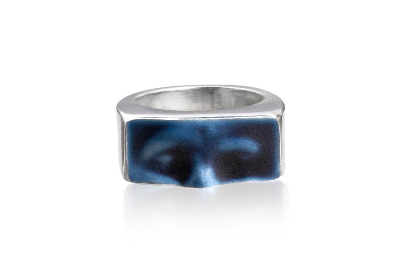 Linn Sigrid Bratland - MASKERADE RING Rings - Norwegian Jewelry features artisan jewellery designers and goldsmiths from Norway.