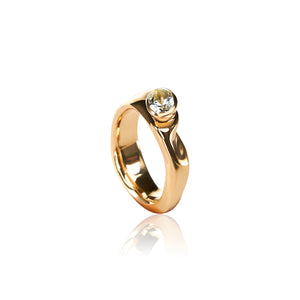 Vido Jewels - Kurg 14K Gold Ring Rings - Norwegian Jewelry features artisan jewellery designers and goldsmiths from Norway.