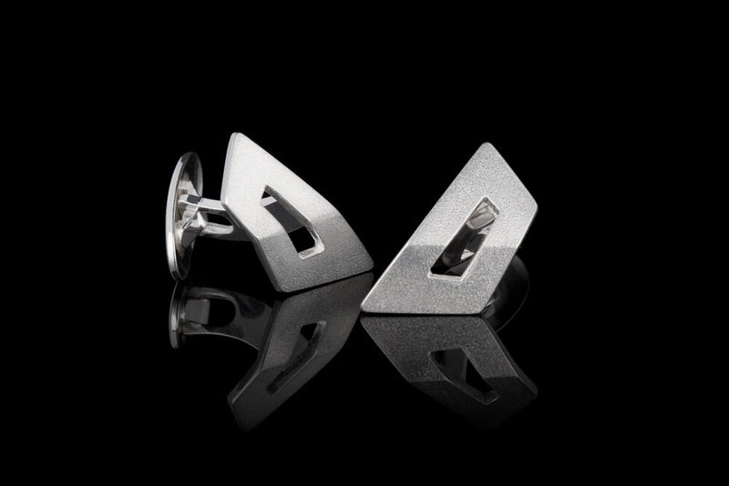 IGJ Design - Mountain Cufflinks Cufflinks - Norwegian Jewelry features artisan jewellery designers and goldsmiths from Norway.