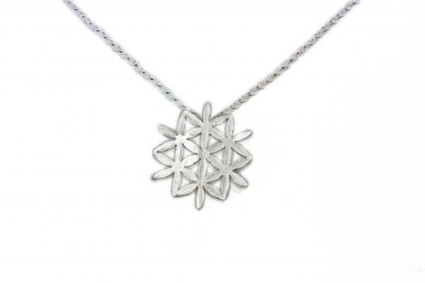 NETTVERK FLAT NECKLACE by Linn Sigrid Bratland - Norwegian Jewelry.