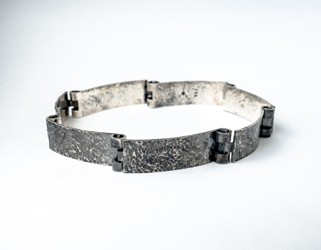 Metallstudio - Door Hinge Bracelet Bracelets - Norwegian Jewelry features artisan jewellery designers and goldsmiths from Norway.
