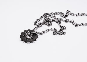 Metallstudio - Gear Pendant Pendant - Norwegian Jewelry features artisan jewellery designers and goldsmiths from Norway.