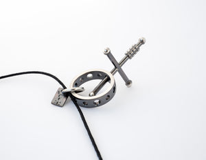 Metallstudio - Female Cross Pendant Pendants - Norwegian Jewelry features artisan jewellery designers and goldsmiths from Norway.