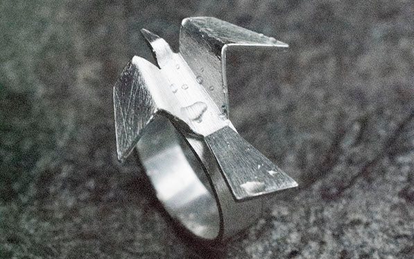 Ridderhus - The Raven Ring Rings - Norwegian Jewelry features artisan jewellery designers and goldsmiths from Norway.