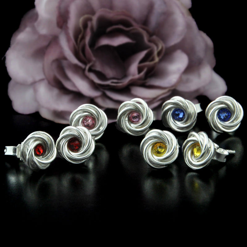Moorish Rose Earrings by Kredah Design - Norwegian Jewellery