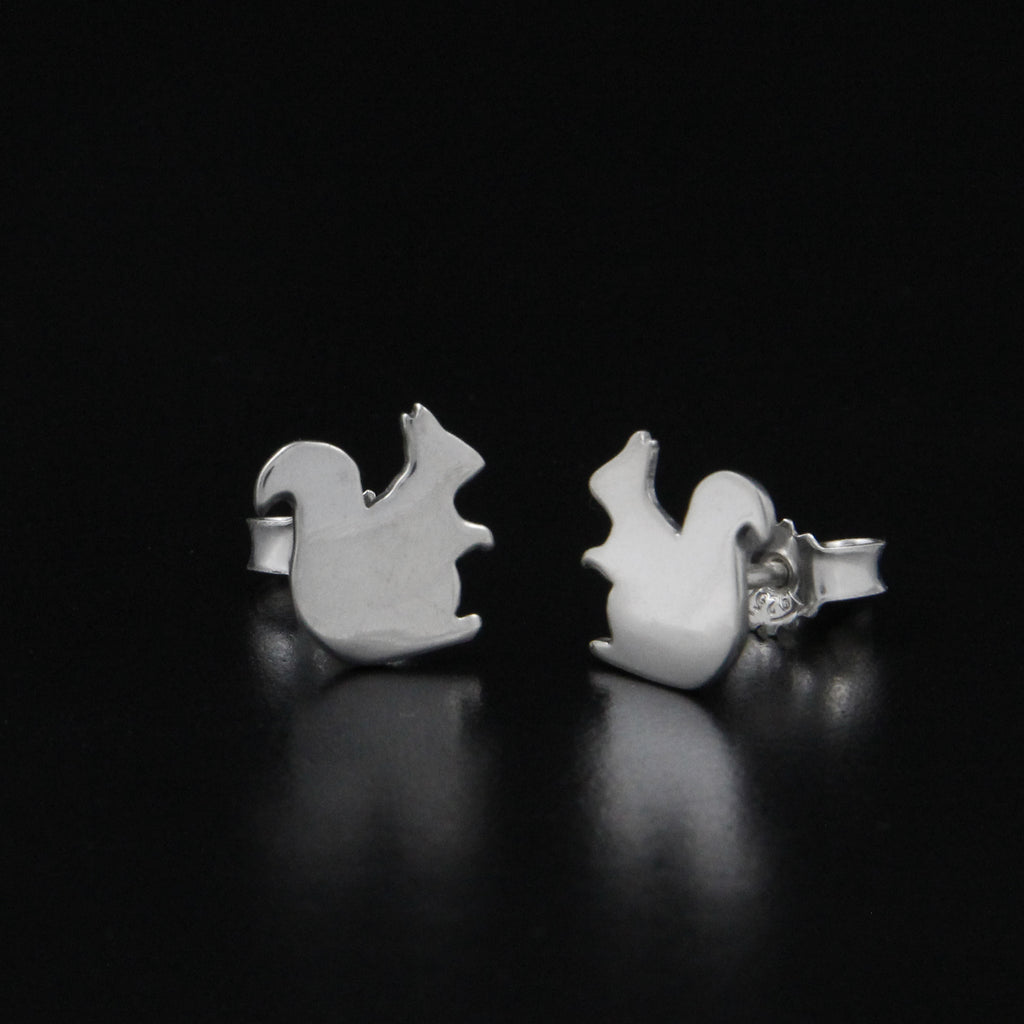 Scirius Vulgaris (Squirrel Earrings) by Kredah Design in Trondheim, Norway - Norwegian Jewelry