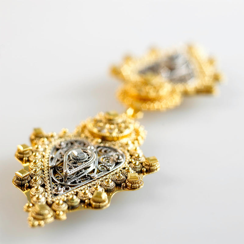 Hilde Nødtvedt - Filigree Spenne (Buckle) Other - Norwegian Jewelry features artisan jewellery designers and goldsmiths from Norway.