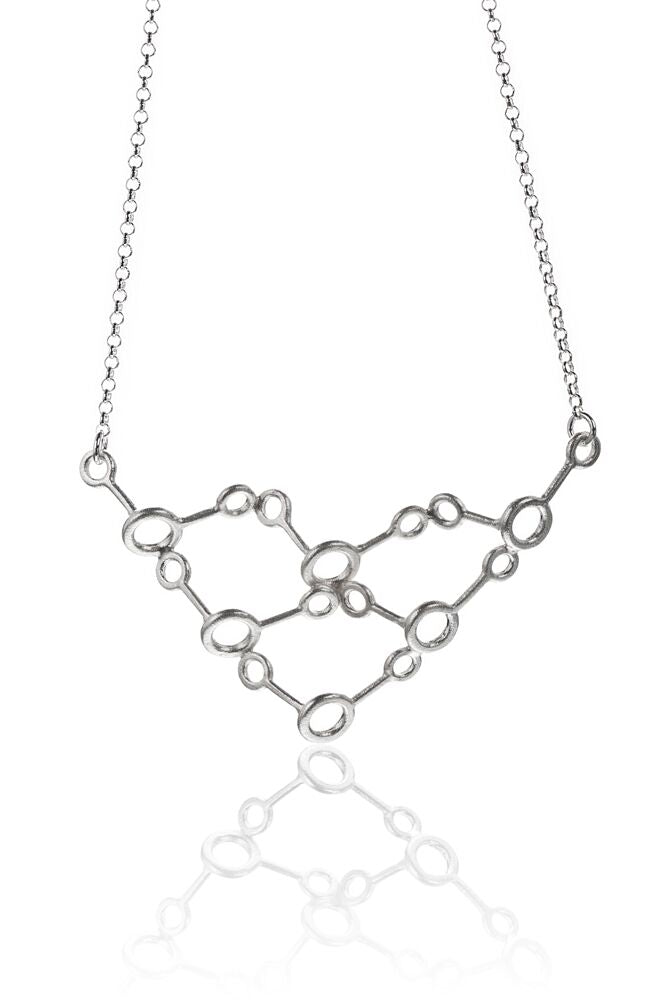 IGJ Design - Water- H2O Big Necklace Necklaces - Norwegian Jewelry features artisan jewellery designers and goldsmiths from Norway.