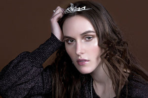 IGJ Design - Mountain Tiara Tiaras - Norwegian Jewelry features artisan jewellery designers and goldsmiths from Norway.