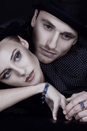 Linn Sigrid Bratland - MASKERADE – ARMRING Bracelets - Norwegian Jewelry features artisan jewellery designers and goldsmiths from Norway.
