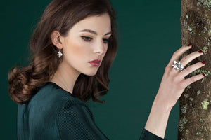 IGJ Design - Forest Ring Big Rings - Norwegian Jewelry features artisan jewellery designers and goldsmiths from Norway.
