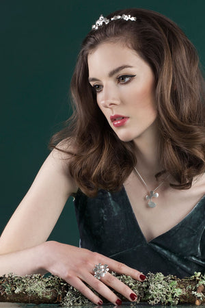 IGJ Design - Forest Tiara Low Tiaras - Norwegian Jewelry features artisan jewellery designers and goldsmiths from Norway.