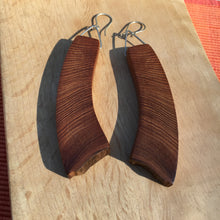 Load image into Gallery viewer, Old-growth Cedar earrings - large