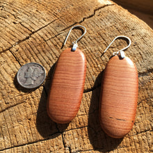Load image into Gallery viewer, Old-growth Cedar layered earrings - medium