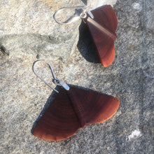 Load image into Gallery viewer, Butte Fire Manzanita - Winged earrings